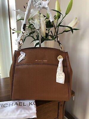 Michael Kors Jet Set Chain Legacy Medium Shoulder Bag In Luggage