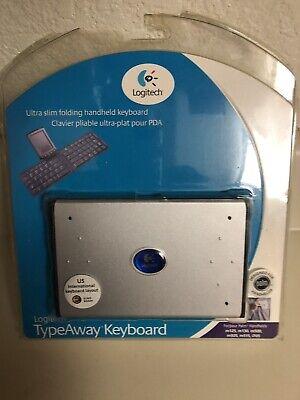 Logitech TypeAway Keyboard Ultra Slim Folding Handheld Keyboard Palm