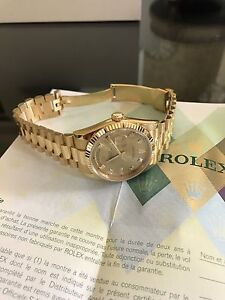 Rolex daydate solid gold president Norwood Norwood Area Preview