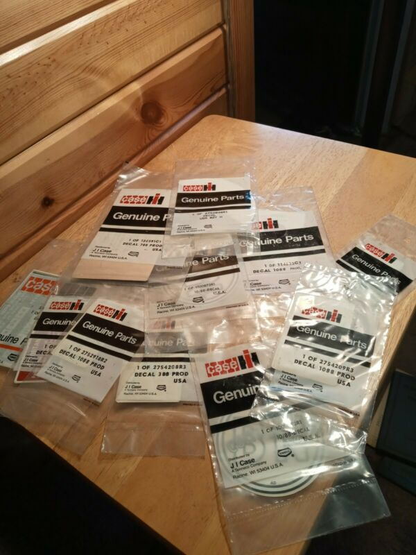 Lot Of Case IH Decals In Package