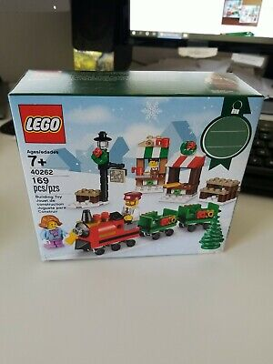 Lego 40262 Christmas Train Ride Seasonal Set Free Shipping