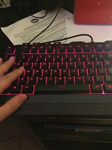Color Red CMStorm Keyboard