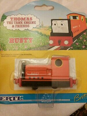 ERTL Thomas the Tank Engine & Friends #4508 Rusty - NEW on card, 1996 Die-cast