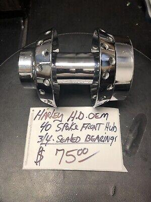 Harley Wheel Hub 40 Spoke Front