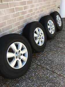 "Amarok 16"" Alloy Wheels with Tyres Thornlands Redland Area Preview"