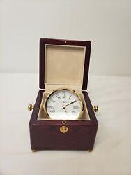 NEW Howard Miller Bailey Nautical Table Clock 645-443