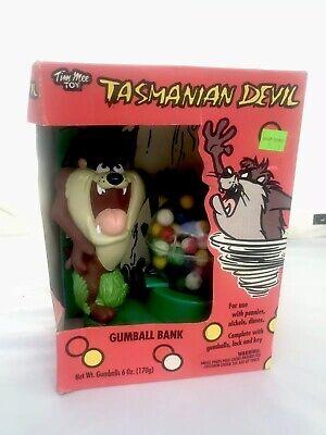 Tim Mee Vintage Tasmanian Devil  Gumball Machine Bank Looney Tunes Cheap Johns - Cheap Gumball Machine