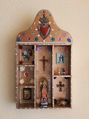 Altar Ofrenda Retablo Box Mexican Folk Art  Dia De los Muertos Day of the Dead Dia De Los Muertos Folk Art