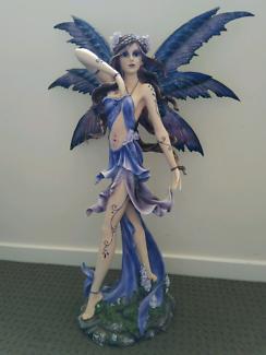RARE Lavender Fairy Dancer Collectable Statue