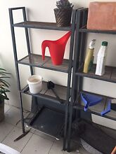 2 x metal shelving stands Chiswick Canada Bay Area Preview