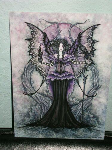 Amy Brown - The Dark Queen - Mini Print