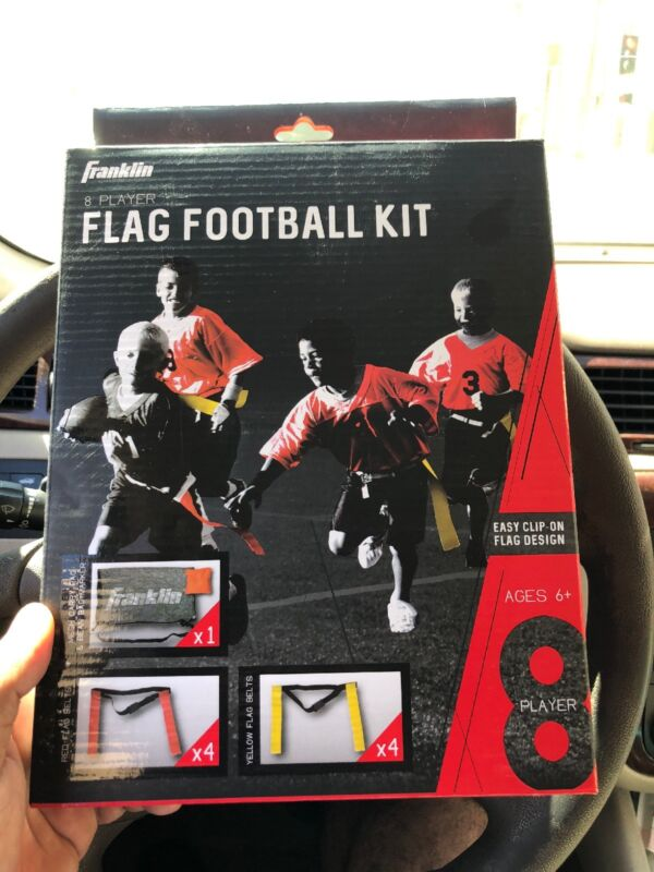 Franklin Sports Youth 8 Player Flag Football Kit 33020