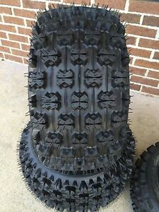 TWO-20x11-9-NEW-ATV-TIRES-PAIR-HONDA-TRX-400EX-300EX-250EX-450R-20x10-9-4-PLY