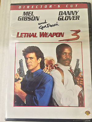 Lethal Weapon 3 Mel Gibson  Danny Glover  Dvd  Brand New
