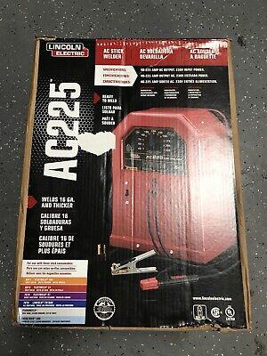 Lincoln Electric Ac-225 Arc Welder Stick Weld K1170 Ac225 230v Open Box
