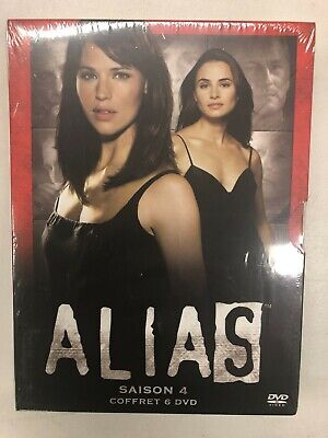 Alias Temporada 4 Estuche 6 DVD Nuevo en Blíster c29