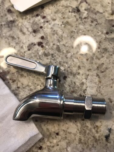 stainless steel beverage dispenser replacement faucet spigot