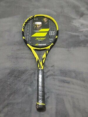 Brand New 2019 Babolat Pure Aero Racquet strung RRP $349, L3  4 3/8in 300G