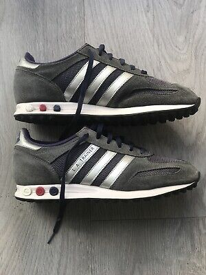 Rare Deadstock 2012 Adidas L A Trainer Size Uk 8