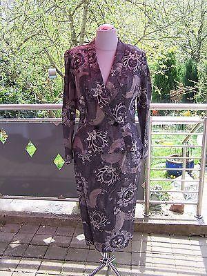 Vintage Kleid  Kostüm  70er  80er Jahre  ungetragen  42 mit Schößchen  - 80er Jahre Vintage Kostüm