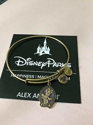 "ALEX AND ANI DISNEY ""MINNIE MOUSE HALLOWEEN"" Bangle Bracelet*GOLD ~ NWOT"