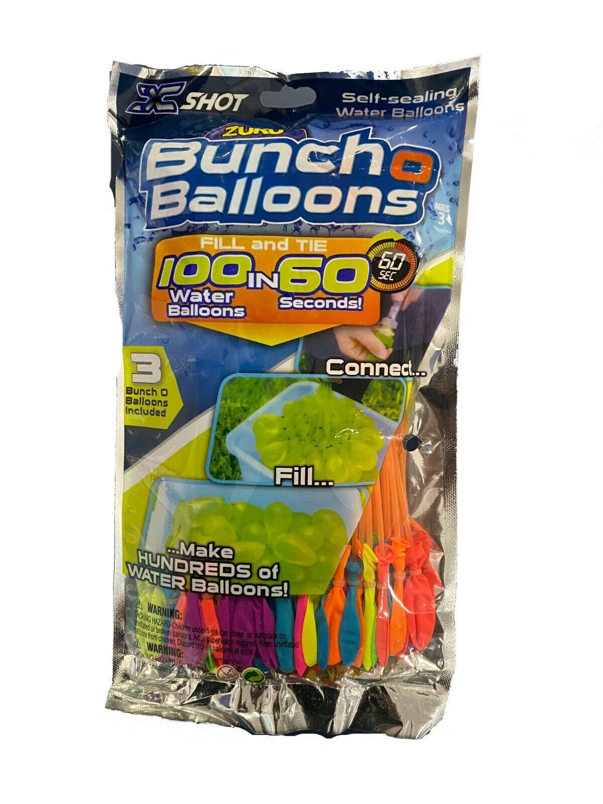 Zuru Bunch O Balloons 1 Package of 100 Self Sealing Water Balloons FREE SHIPPING