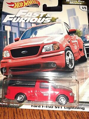 2020 Hot Wheels Premium Fast  Furious Motor City Muscle Ford F-150 SVT Lightning
