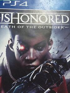 **Dishonored: Death Of The Outsider PS4** (10$)