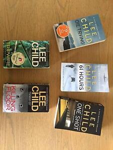 5 Books by Lee Child Southern River Gosnells Area Preview