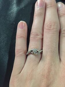 Lower price Promise ring/engagement ring
