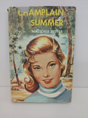 Champlain Summer But Marjorie Better Vintage Hardcover With Dust