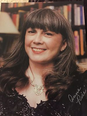Anne Rice, Author Signed Color Photograph