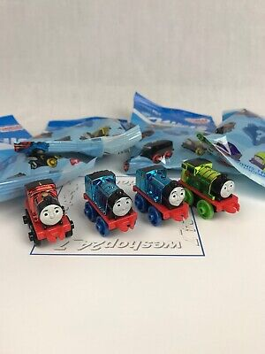 Thomas the Train Minis ~ Metallics ~ #3 James #22 Gordon #23 Edward #62 - Percy The Train
