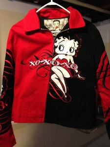 JH Design Betty Boop twill Jacket