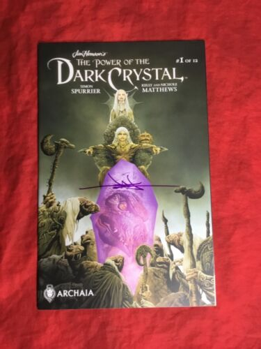 JIM HENSON'S POWER OF THE DARK CRYSTAL #1~SIGNED BY JAE LEE~ARCHAIA STUDIO~