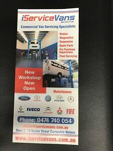 IVECO/VANS/ MOTORHOME /SERVICING /REPAIRS /ISERVICEVANS Currumbin Waters Gold Coast South Preview