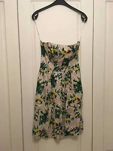 Strapless floral mini dress H&M size S / M / 8 / 10 Bondi Beach Eastern Suburbs Preview