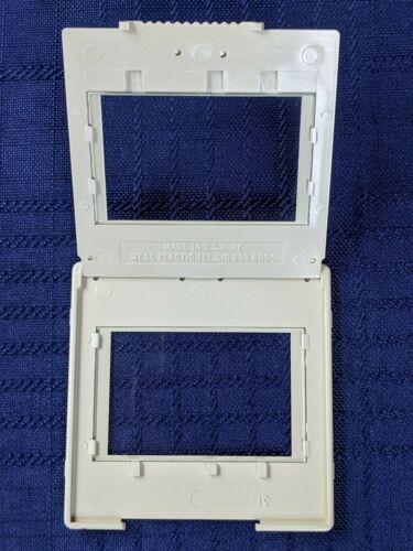Vintage Kodak 35mm Plastic, Snap to Close Slide Mounts, For Projector, 30 Pieces