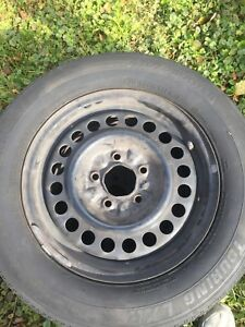 215/60r15 rims and tires 2 only $40.00