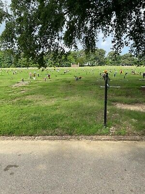 Two Cemetery Plots, Forest Hill Cemetery South, Memphis TN, Apostles Section