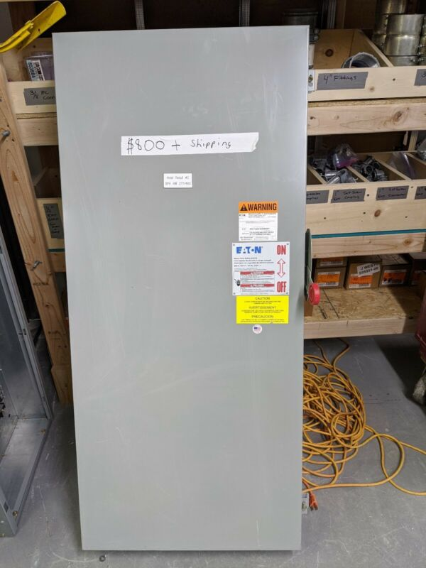 Eaton Cutler Hammer DH367UGKN 800A 277/480V Disconnect Switch
