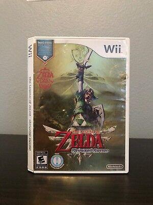 The Legend Of Zelda  Skyward Sword 25Th Anniversary  Nintendo Wii  With Music Cd