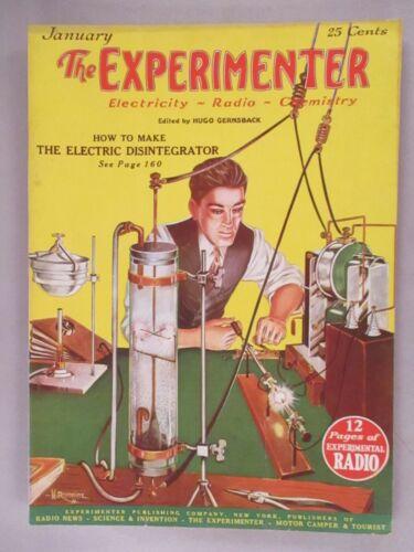 The Experimenter Magazine - January, 1926 ~~ Make An Electrical Disintegrator