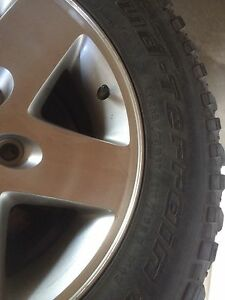 Jeep rim and tires