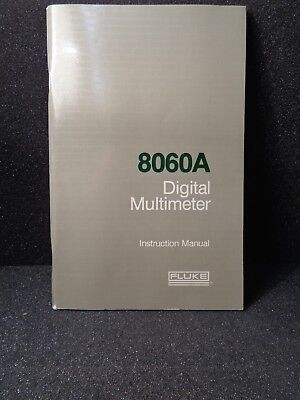 Fluke 8060a Digital Multimeter Instruction Manual