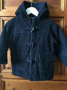 Okaou Boy's Corduroy Winter Coat Size UK/USA 32