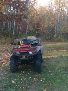2001 Honda fourtrax  4x4 for parts