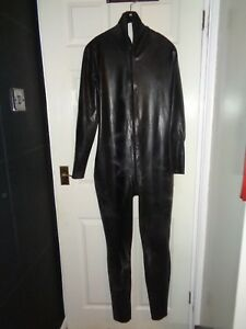 mens latex catsuit