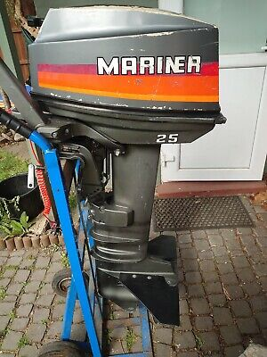 Mariner 25hp Outboard Engine Long Shaft
