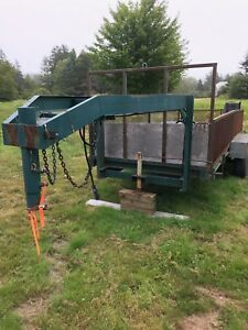 16 ft goose neck trailer
